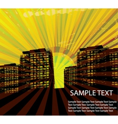 grunge urban vector image vector image