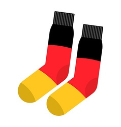 Patriot socks germany clothing accessory german vector