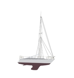 Water boat sailboat vector
