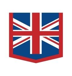 australia flag official emblem icon vector image