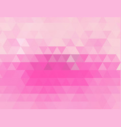 light pink polygonal which consist vector image vector image