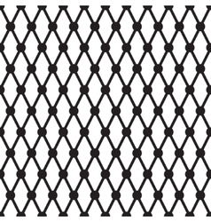 Simple cross dots line seamless pattern vector