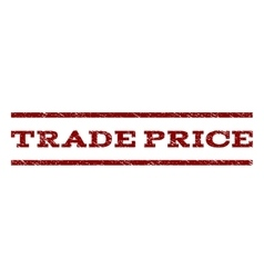 Trade price watermark stamp vector