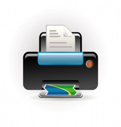 Photocopy icon vector