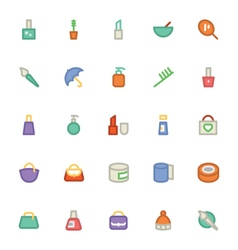 Clothes icons 4 vector