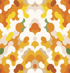 Abstract pattern orange background vector