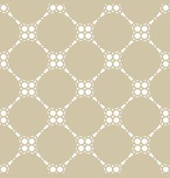 geometric lattice seamless pattern oriental style vector image