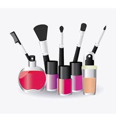 Make up design vector image