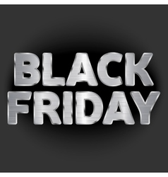 on the theme of black friday vector image vector image