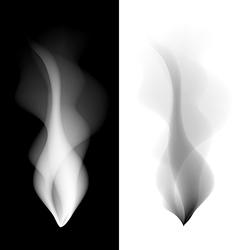 Set smoke background fire smooth wallpaper concept vector