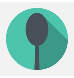 Spoon icon vector image