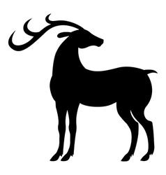 Stand deer vector