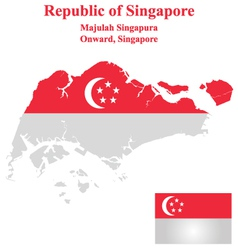 Singapore flag vector