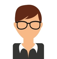 Young man isolated icon design vector