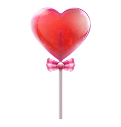 candy lollipop vector image vector image