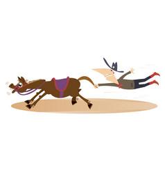 Cartoon rodeo vector