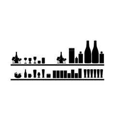 drinks bar icon image vector image