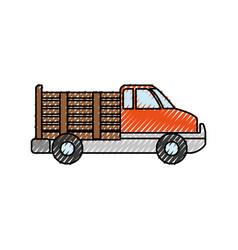 Van vehicle transport vector