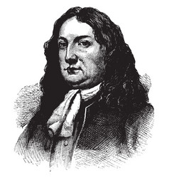 William penn vintage vector