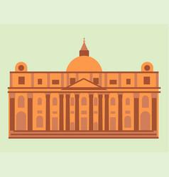 Royal palace tourism travel design famous building vector