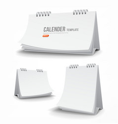 Calender template collections vector