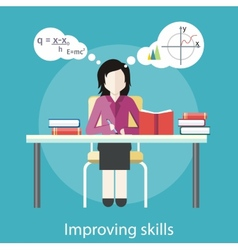 Improving skills vector