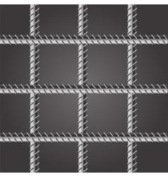 Prison bars vector