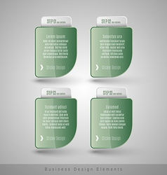 Business infographics template for websites vector image