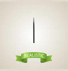 Realistic blending brush element vector