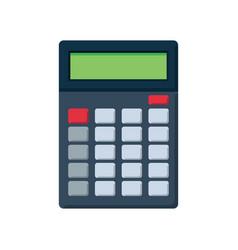 Flat icon of calculator vector