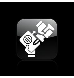 radio repairer icon vector image