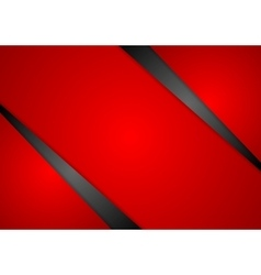 Abstract red corporate background vector