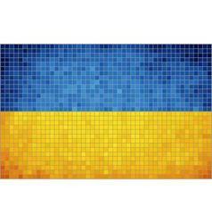 Flag of Ukraine vector image vector image