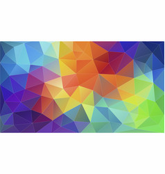 geometric triangle wallpaper vector image