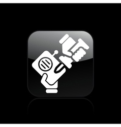 radio repairer icon vector image vector image