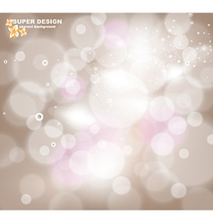 Romantic Sparkling Background vector image