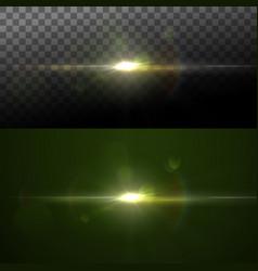 sparkle sun burst vector image vector image