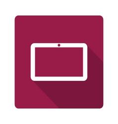 Tablet computer icon vector image vector image