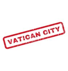 Vatican city rubber stamp vector