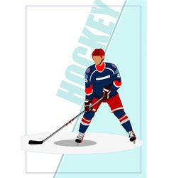 Hockey a0105 vector