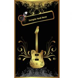 Gold bass vector