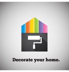 Decorate your home vector image vector image