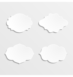 Set of farmes vector image