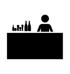 drinks bar icon image vector image