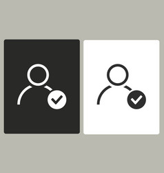 Account - icon vector