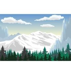 Mountain Scene vector image