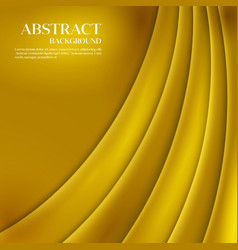 Gold template abstract background with vector