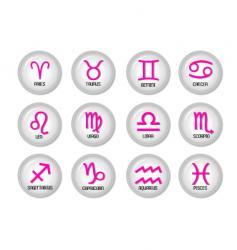 horoscope vector image