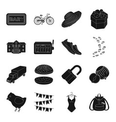Clothing animal food crime and other web icon vector