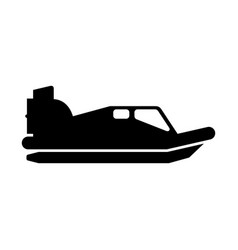 hovercraft vector image